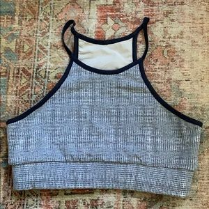 Bandier Cropped Sports Bra